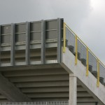 Tribunes en (vlucht)trappen TT circuit